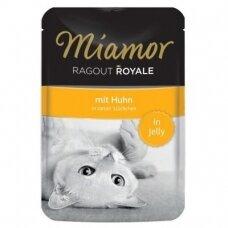 Miamor Ragout Royale in Jelly su vištiena 100 g