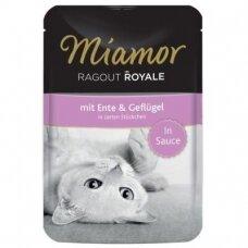 Miamor Ragout Royale padaže su antiena ir paukštiena 100 g
