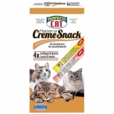 PERFECTO CAT CREAM SNACK 120g