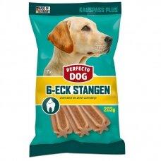 PERFECTO DOG 200 g 6-eck Dentasticks (7vnt)