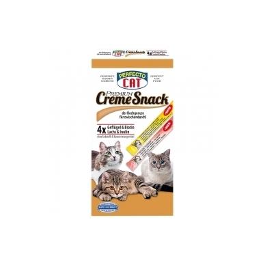PERFECTO CAT CREAM SNACK 120g