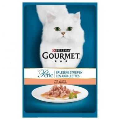 PURINA GOURMET PERLE 85 g su lašiša