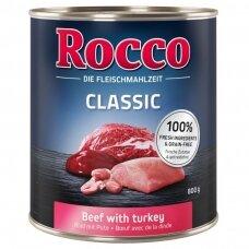 ROCCO CLASSIC ADULT 800 g su jautiena ir kalakutiena