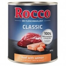 ROCCO CLASSIC ADULT 800 g su jautiena ir lašiša