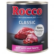 ROCCO CLASSIC ADULT 800 g su Jautiena ir veršienos širdimis