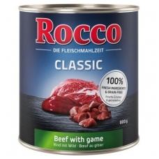 ROCCO CLASSIC ADULT 800 g su Jautiena ir Žvėriena