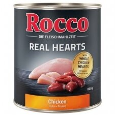 ROCCO REAL HEARTS 800 g su vištiena