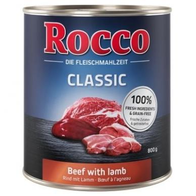 ROCCO CLASSIC ADULT 800 g su jautiena ir ėriena