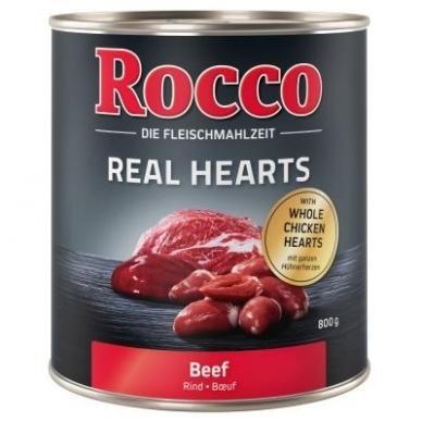 ROCCO REAL HEARTS 800 g su jautiena