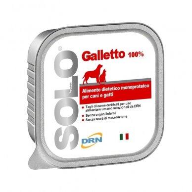 """Solo konservai """"Galletto"""" su vištiena"""