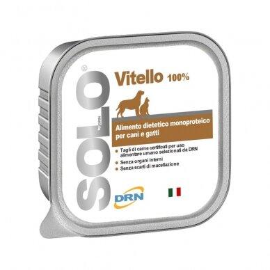 "Solo konservai ""Vitello"" su veršiena"